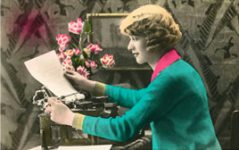 woman-typewriter