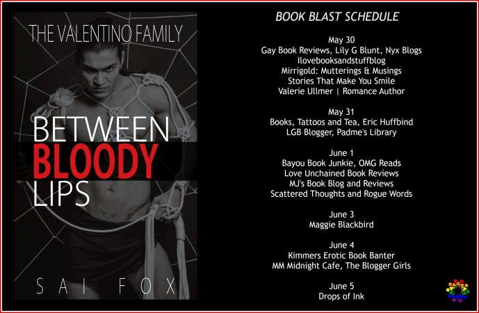BETWEEN BLODDY LIPS Schedule