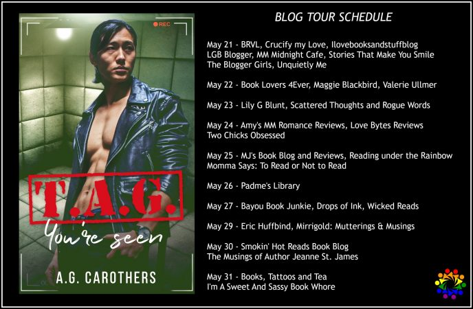 TAG YOU'RE SEEN SCHEDULE