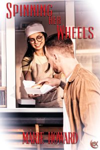 BookCover_MarieHoward_SPINNINGHERWHEELS - Christine Knapp
